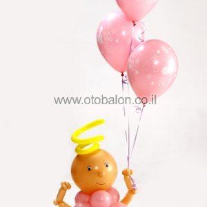 זר תינוק/ת מבלונים